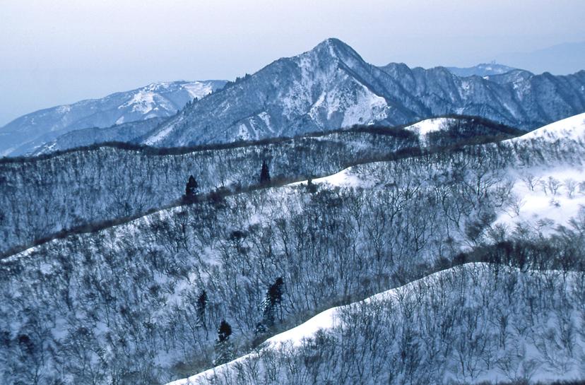 鈴鹿の山(冬)01
