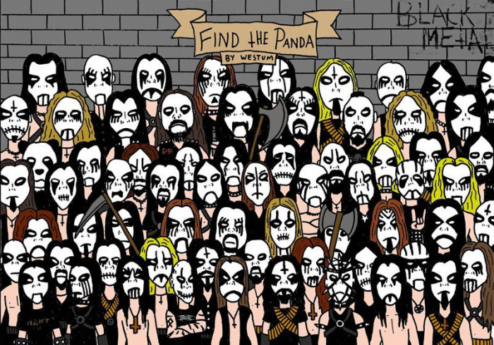 Can you find the Panda?