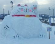 2014スノーフェスティバルin越路 オブジェ