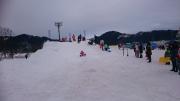 雪山すべり台