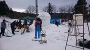 雪像作り2