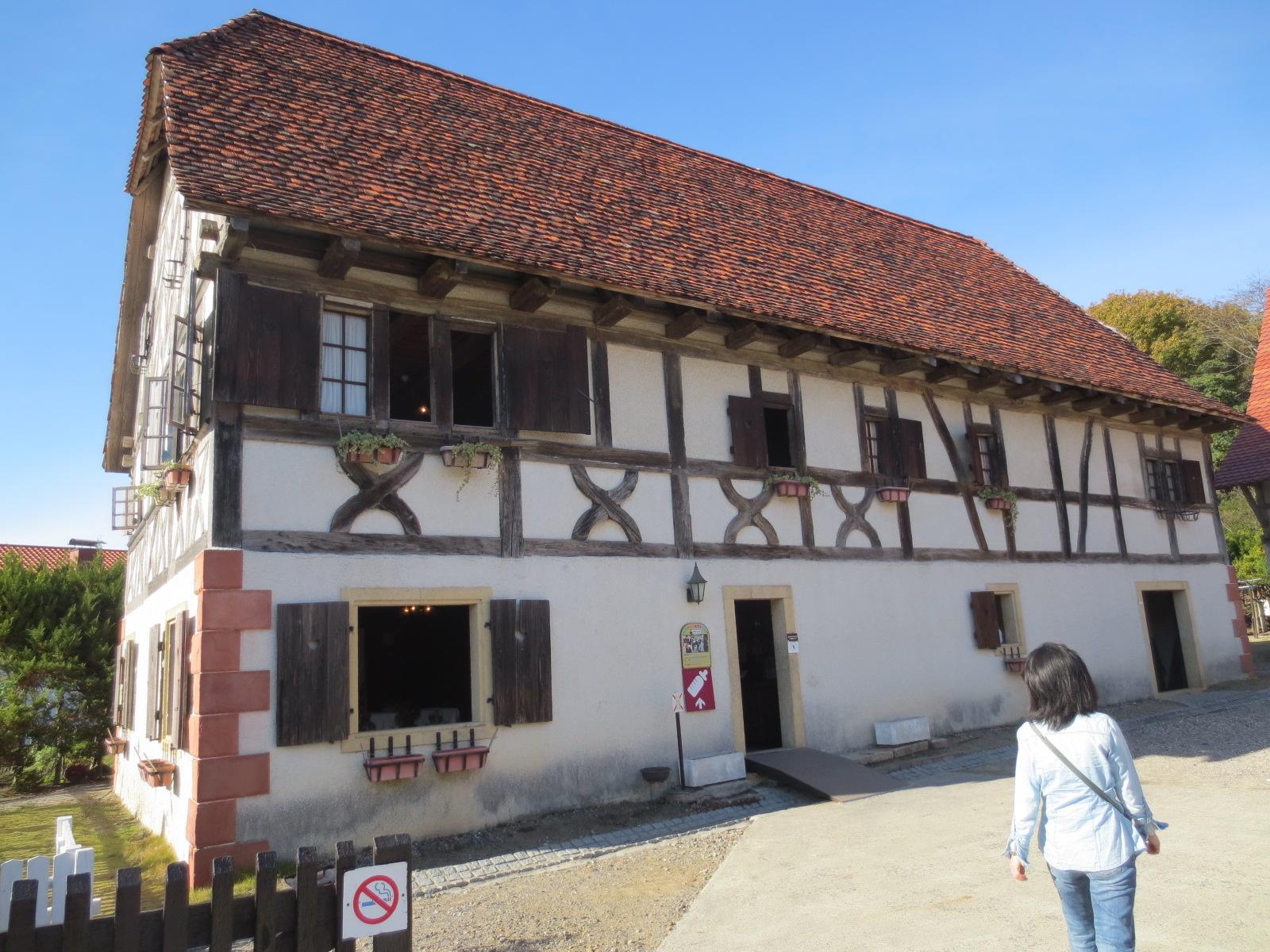 フランス アルザス地方の家