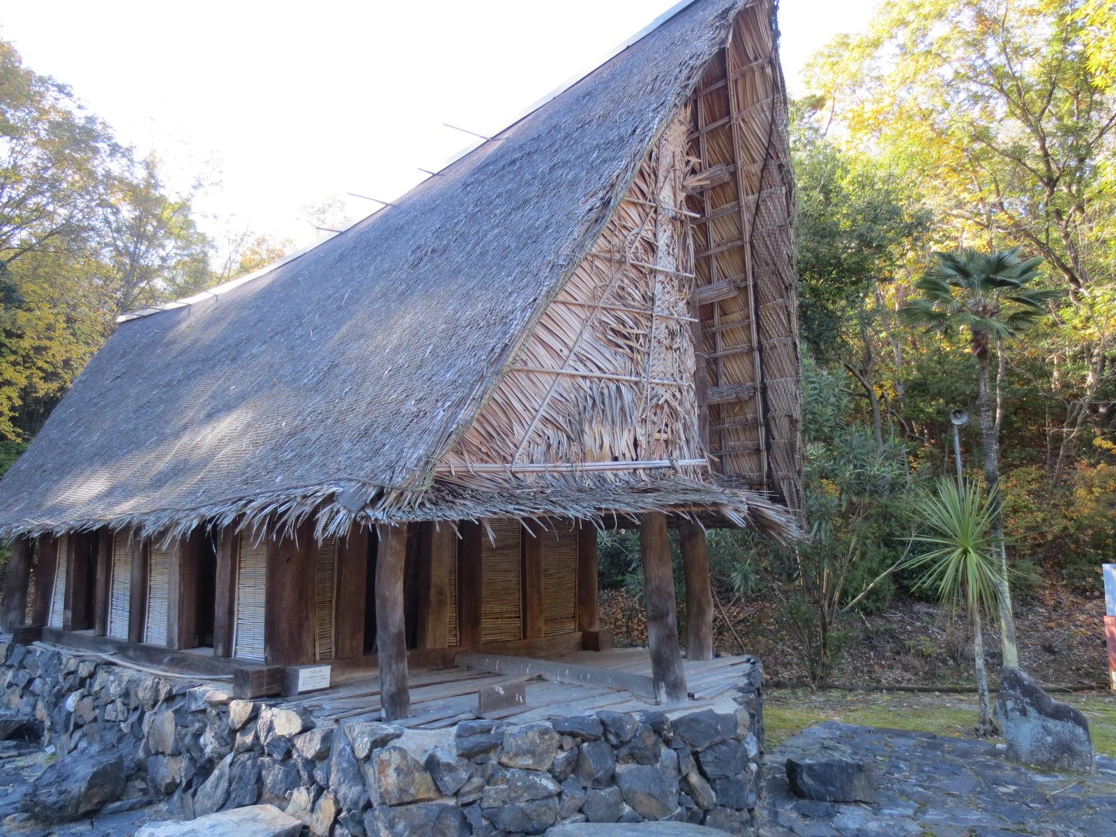 ミクロネシア ヤップ島の家