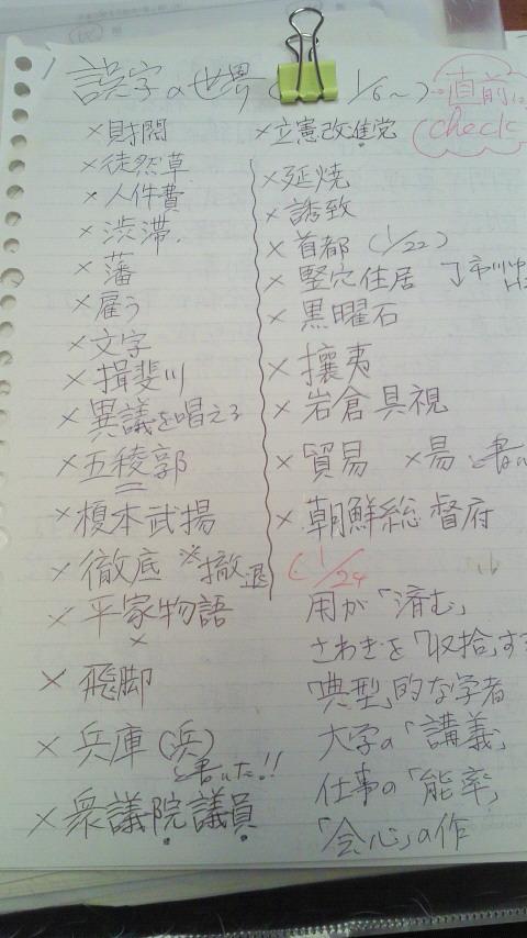 2016麻布合格者の漢字