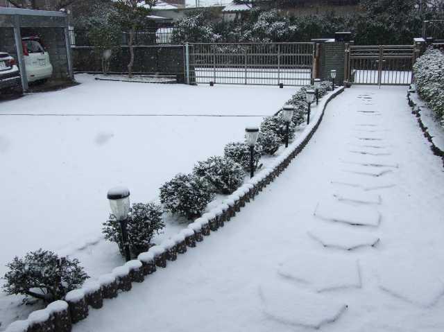 大雪警報解除