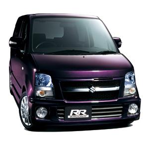 スズキ ワゴンR RR-S 紫