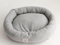 オーガニックコットン犬用ベッドS