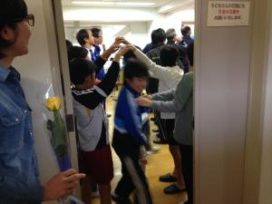 2014年度 6年生を送る会 @すすき野小学校/少年サッカー