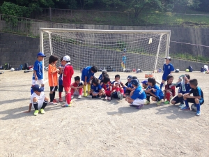 2015年度 関東学院大学体育部連合会サッカー部 サッカー教室 @保木グラウンド/少年サッカー