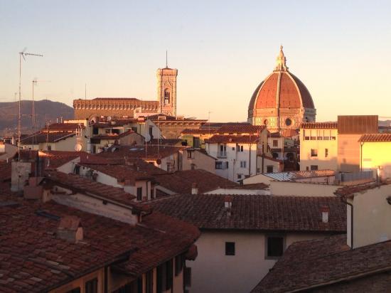 今回のフィレンツェはとても素敵なアパートホテル Cavalieri Palace