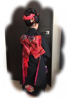 日本髪で七五三