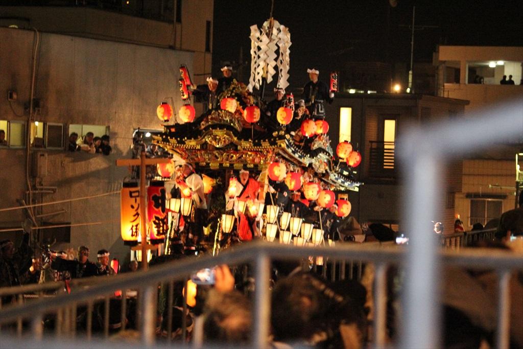 2012年の夜祭におけるお旅所の様子_1