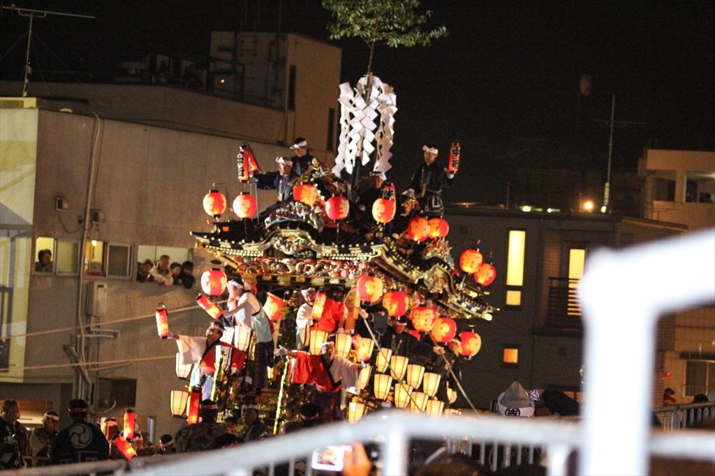 2012年の夜祭におけるお旅所の様子_2