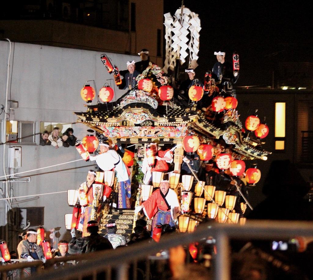 2012年の夜祭におけるお旅所の様子_3