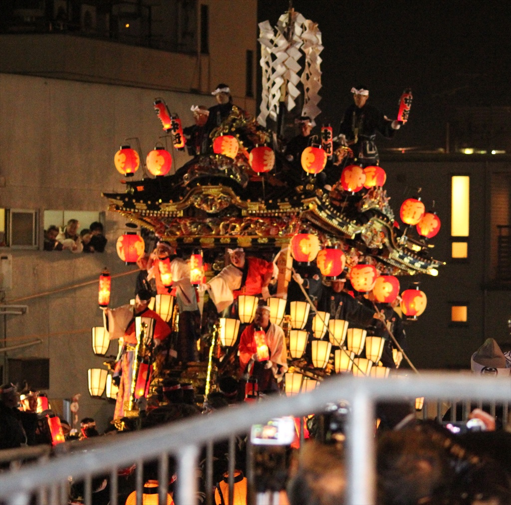 2012年の夜祭におけるお旅所の様子_4