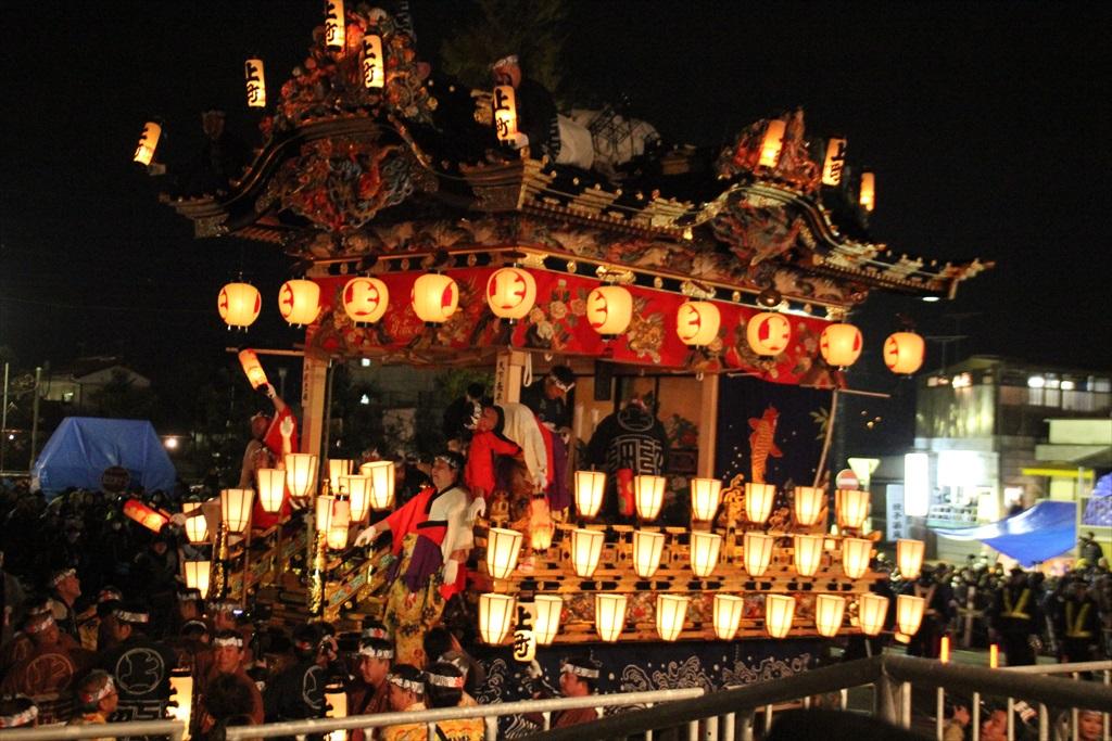 2012年の夜祭におけるお旅所の様子_5