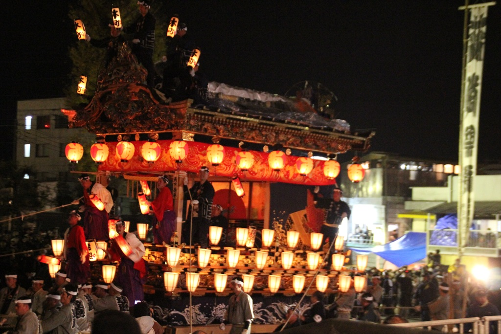 2012年の夜祭におけるお旅所の様子_6