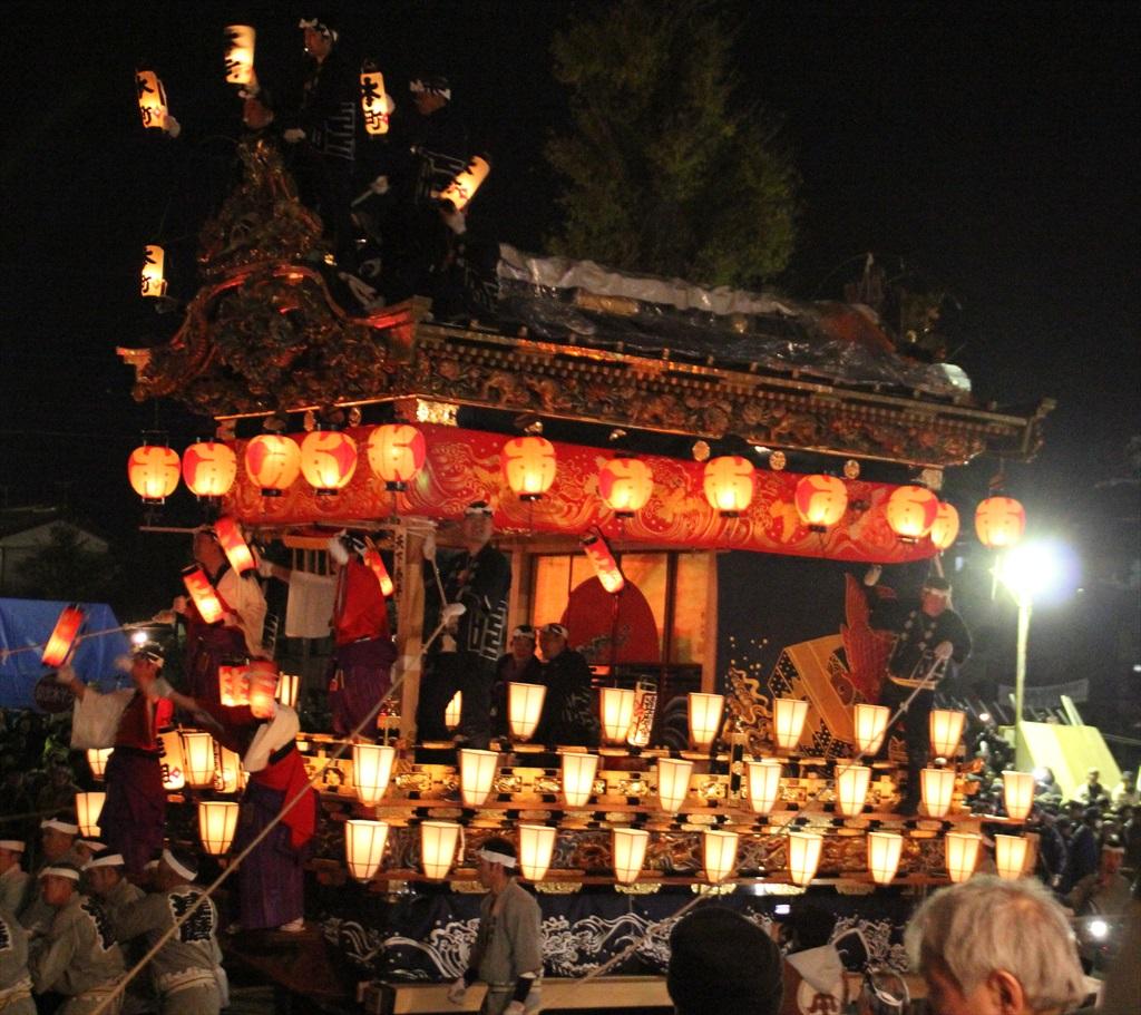 2012年の夜祭におけるお旅所の様子_7