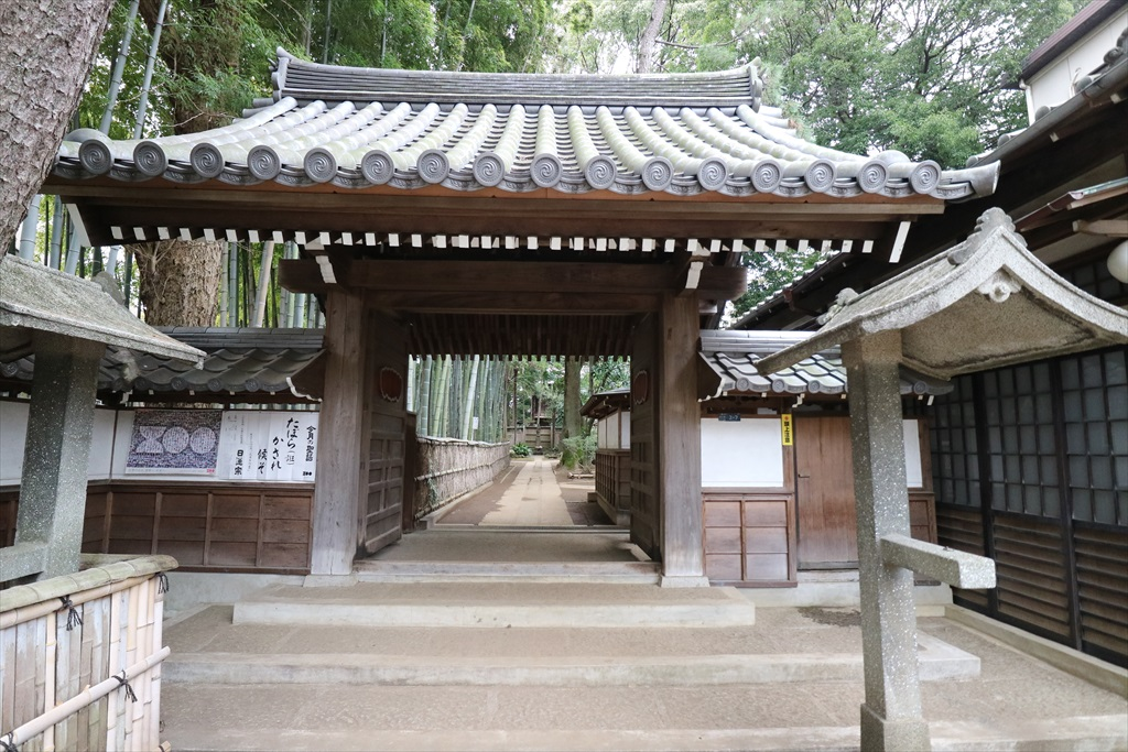 妙福寺(御松庵)山門など_2