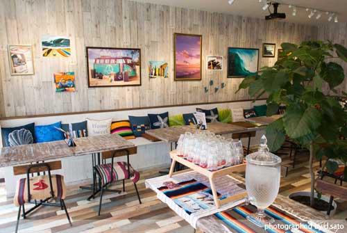 福岡県 福岡市 カフェ ブルーリーフカフェ Blue Reef Cafe おしゃれ リゾート ラーメン チャーシュー丼 02