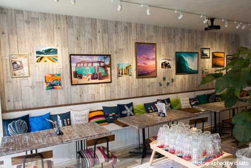 福岡県 福岡市 カフェ ブルーリーフカフェ Blue Reef Cafe おしゃれ リゾート ラーメン チャーシュー丼 03