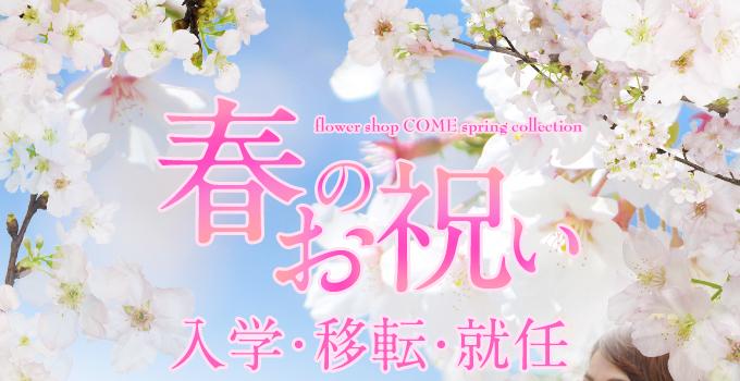 卒業 入学 御祝 花 アレンジ 花束 春