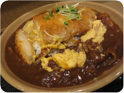 かつ煮カレー(大江戸盛)