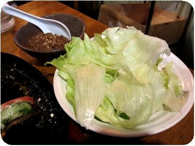 肉味噌レタス