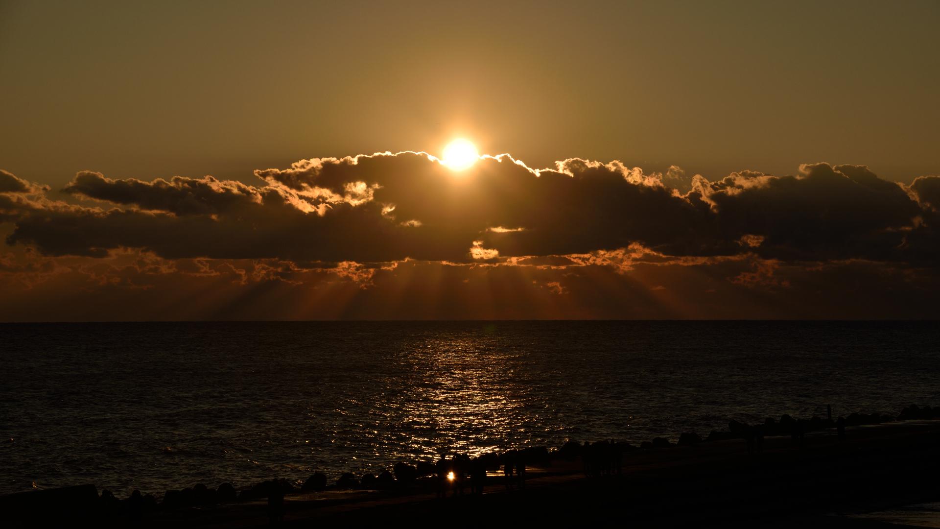 鹿島灘初日の出