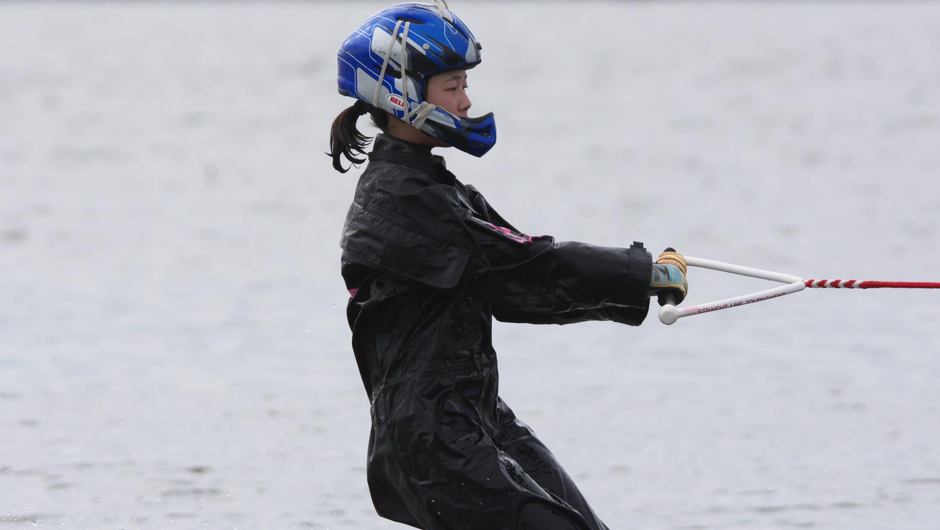 ジャンプ練習、山下藍子選手02
