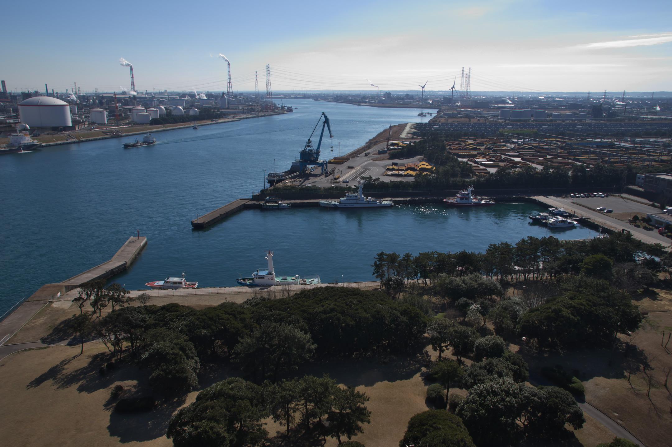 20160126鹿島港(南航路)