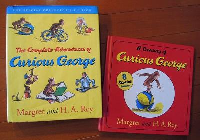 「おさるのジョージ」洋書2冊