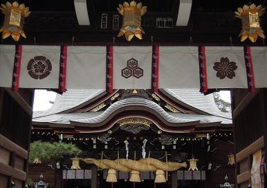 2016冬の櫛田神社