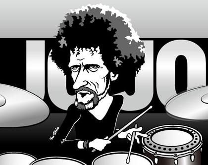 JoJo Mayer Nerve caricature