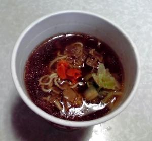 中華三昧 銀座アスター監修 とろみ醤油麺(できあがり)