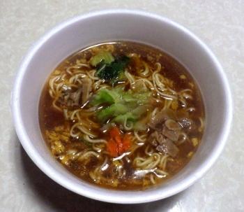 銀座アスター監修 とろみ醤油麺(できあがり)