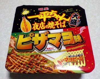 一平ちゃん 夜店の焼そば 大盛 ピザマヨ味