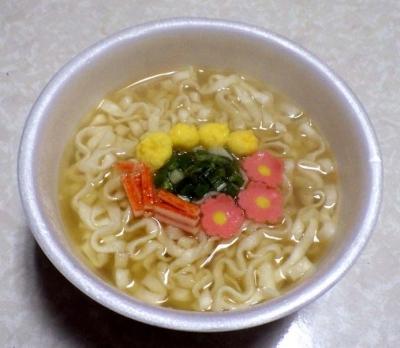 マルちゃん 桜色のおめで鯛だしうどん(できあがり)