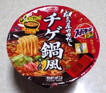 スーパーカップ1.5倍 広島産カキだし チゲ鍋風ラーメン