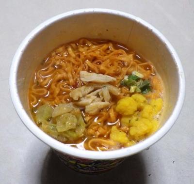 1/18発売 とんがらし麺 BIG 激辛ジャークチキン味(できあがり)