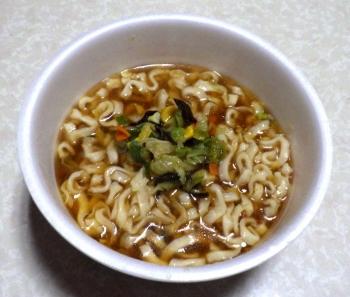 麺の至宝 とろみ醤油 刀削風麺(できあがり)