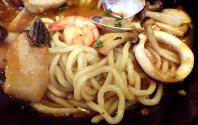 綿麺 フライデーナイト Part104 (16/2/26) ブヒィ!ヤベース(麺のアップ)