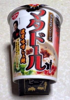 2/15発売 有名店シリーズ マタドール 濃厚味噌らぁ麺