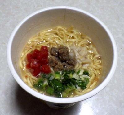 2/15発売 有名店シリーズ マタドール 濃厚味噌らぁ麺(できあがり)