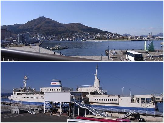 151022函館山と摩周丸