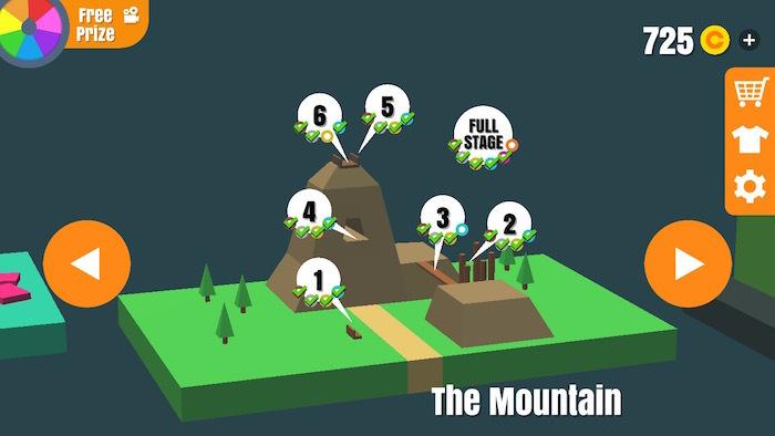 フリップトリックスター 攻略 The Mountain