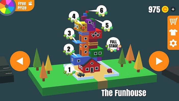 フリップトリックスター 攻略 the funhouse