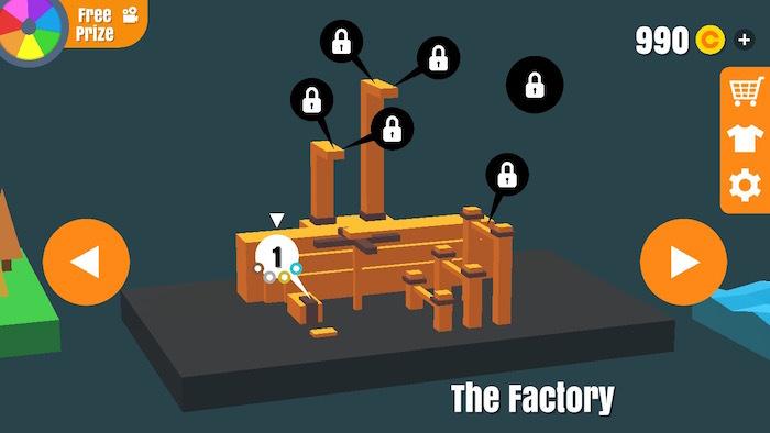フリップトリックスター 攻略 The Factory
