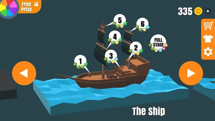 フリップトリックスター 攻略 the ship