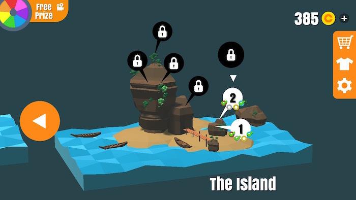 フリップトリックスター 攻略 The Island